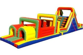 Obstacle Course w/Slide